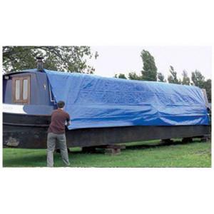 Prelata albastra impermeabila 4x10 m