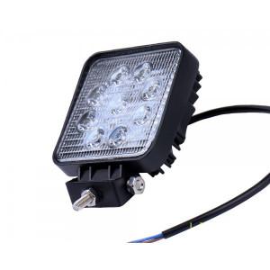 Proiector LED Auto 27W 10-30V patrat