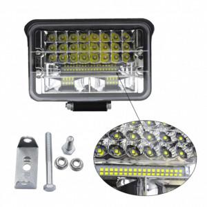 Proiector LED auto offroad 108W 2 faze