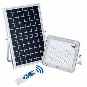 Proiector solar 120W cu panou solar si telecomanda