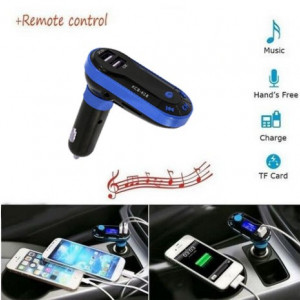 Kit Auto Bluetooth Wireless HandsFree Modulator FM, USB, SD