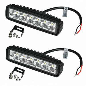 Set 2 proiector LED auto offroad 18W
