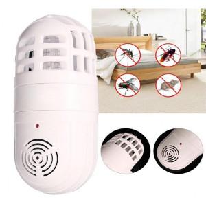 Dispozitiv anti insecte cu ultrasunete si lumina UV