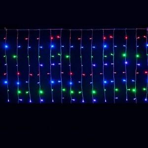 Instalatie de Craciun Tip Perdea 3 m x 1 m, 132 LED MULTICOLOR