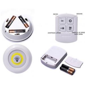 Lampa wireless cu telecomanda