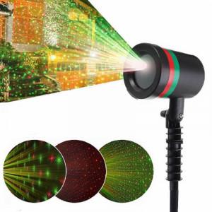 Proiector Laser cu lumini verzi si rosii pentru exteriorul casei