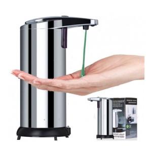 Dozator metalic de sapun, cu senzor