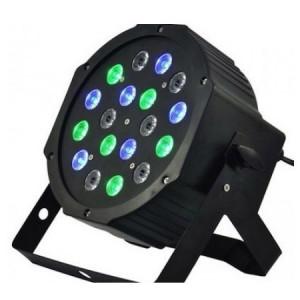 Proiector LED Flat - 18 leduri, joc de lumini