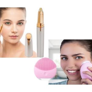 Aparat curatarea tenului + Epilator facial