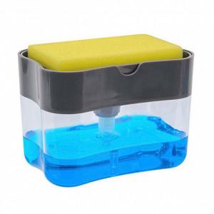 Dispenser 2 in 1 pentru detergent lichid de vase