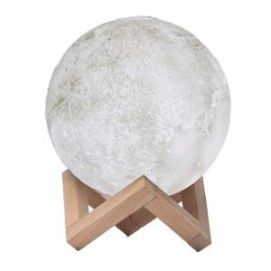 Lampa de veghe cu umidificator, Luna DEKA Moon 3D