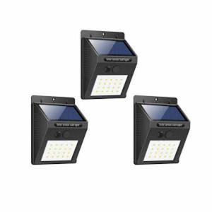 Lampa solara, 30 Leduri, senzor de miscare - set 3 bucati