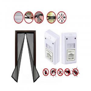 Set 2 aparate anti rozatoare + Plasa anti insecte