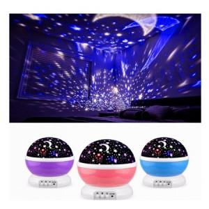 Lampa proiector rotativ 360 grade