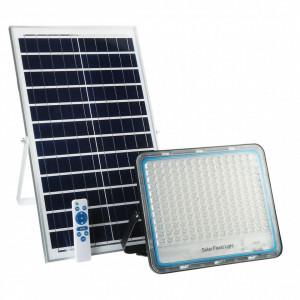 Proiector solar 200W cu panou solar si telecomanda