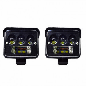Set 2 x Proiector LED auto offroad 156W