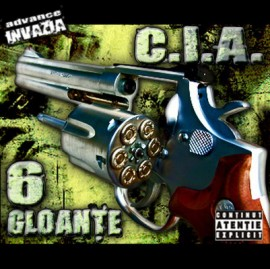 """CIA - 6 gloante"" album ORIGINAL + sticker ""Facem frumows"""