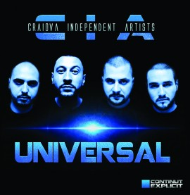 """CIA - Universal"" album ORIGINAL + sticker ""Facem frumows"""