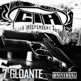 """CIA - 7 gloante"" album ORIGINAL + sticker ""Facem frumows"""