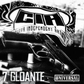 """CIA - 7 gloante"" album ORIGINAL + sticker ""Facem frumows"""
