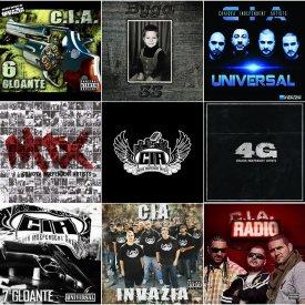 Discografie CIA (8 albume originale)