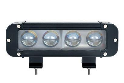 """LED Bar Auto Offroad 4D 40W/12V-24V, 3400 Lumeni, 8""""/20 cm, Spot Beam 12 Grade"""