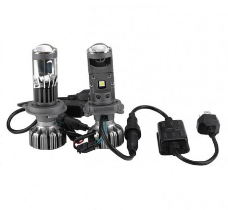 Lupe Bi Led H4 putere 50W luminozitate 8000 Lumeni 12V G7-H4