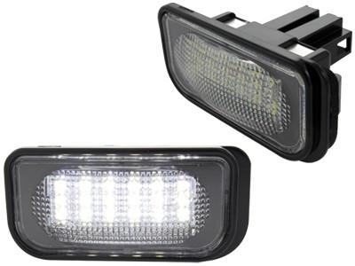 Lampi numar led MERCEDES-BENZ Clasa C W203 Sedan, CLK Classe W209 - BTLL-015