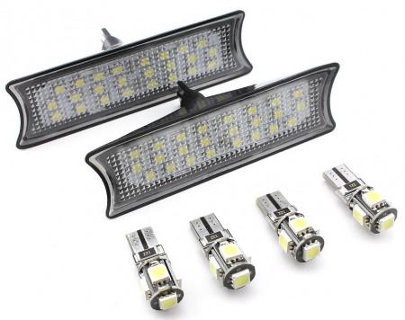 Set Plafoniere LED Fata + Spate dedicate BMW E60, E65, E87 - BTLL-078