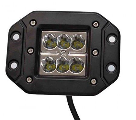 Proiector LED Auto Offroad 18W/12V-24V, 1320 Lumeni, Incastrabil, Spot Beam 8 Grade