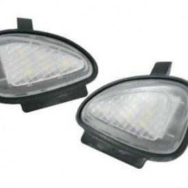 Lampi LED Undermirror VW Golf 6, Golf 6 Gti 2009~, Golf Cabriolet 2012~, Touran 2010~ - BTLL-058