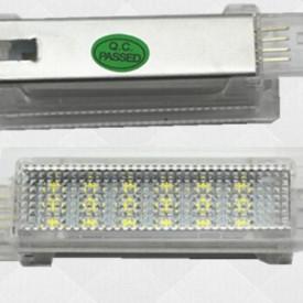 Lampi LED Portiere si Interior BMW F01, F20, F30 Lumina Alba - BTLL-071