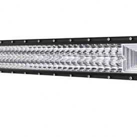 """LED Bar Auto 594W, leduri pe 3 randuri, 12V-24V, 41580 Lumeni, 42""""/107 cm, Combo Beam 12/60 Grade"""