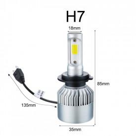 Set becuri tip H7 led