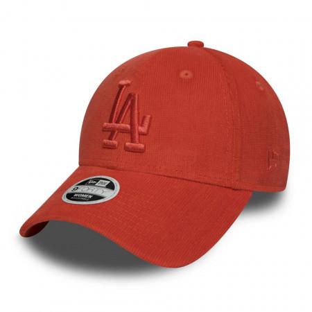 New-Era-sapca-ajustabila-baseball-micro-cord-LA-portocaliu