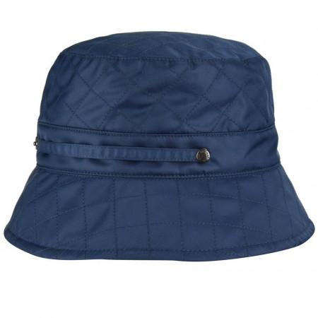 Betmar, Palarie dama quilted rain bucket bleumarin