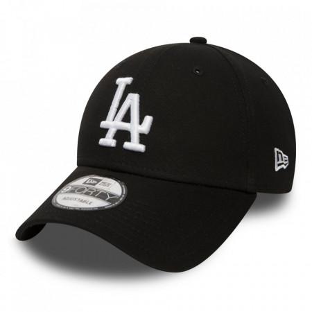New Era-sapca-ajustabila-baseball-esessential-LA-negru