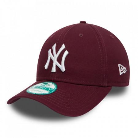 New-Era-sapca-ajustabila-baseball-NY-rosu-bordo