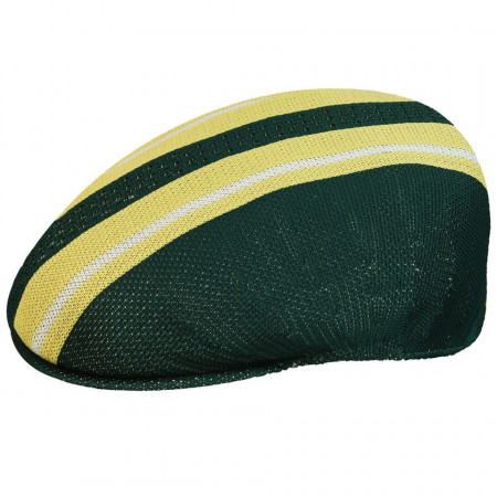 Kangol-basca-verde-vented-stripe-504