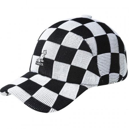 Kangol-sapca-neagra-checkered-tropic-adj