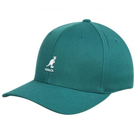 Kangol-sapca-verde-wool-flexfit-baseball