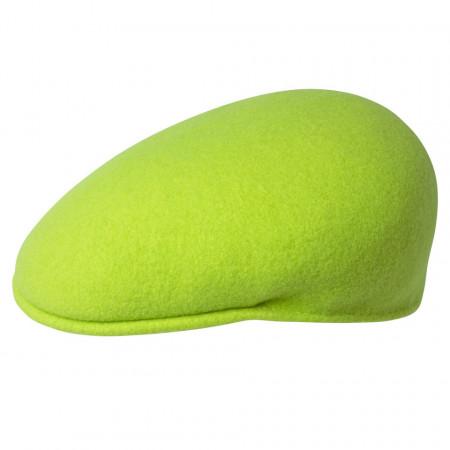 Kangol-Basca-verde-neon-Wool-504