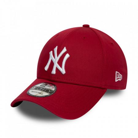 New-Era-sapca-ajustabila-baseball-NY-rosu-inchis