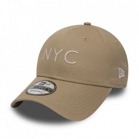 New-Era-sapca-ajustabila-baseball-NYC-bej