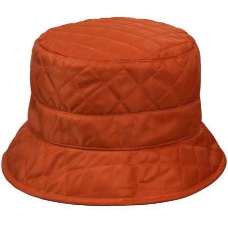 Betmar, Palarie dama quilted rain bucket portocaliu