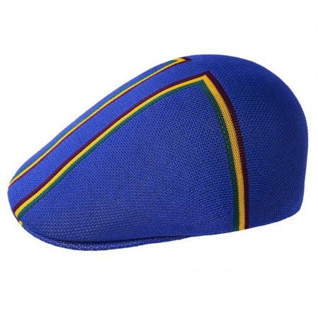 Kangol-basca-albastra-angle-stripe-507