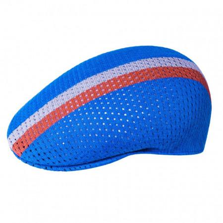 Kangol-basca-albastra-mesh-stripe-504