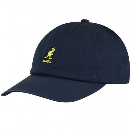 Kangol-sapca-bleumarin-washed-cotton-adjustable-baseball