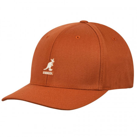 Kangol-sapca-portocalie-wool-flexfit-baseball