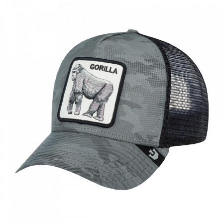 Goorin-Brothers-Sapca-gri-trucker-silverback-gorilla